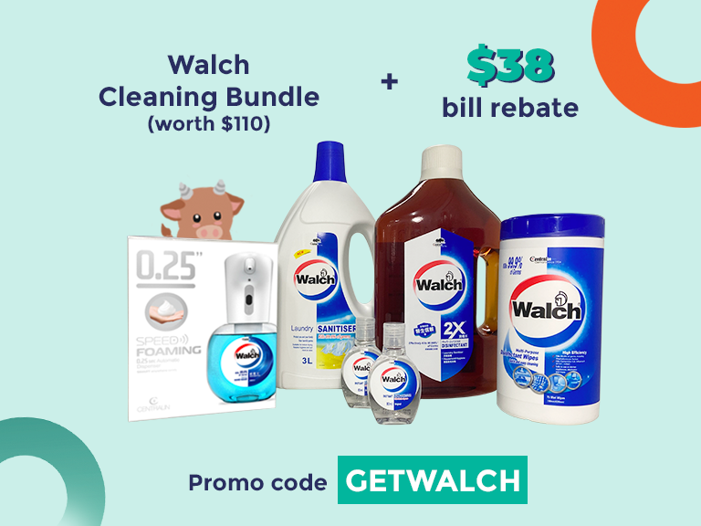 Receive a Walch Cleaning Bundle and $38 rebate