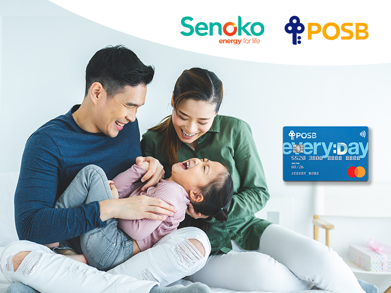 Everyday Savings with Senoko Energy & POSB